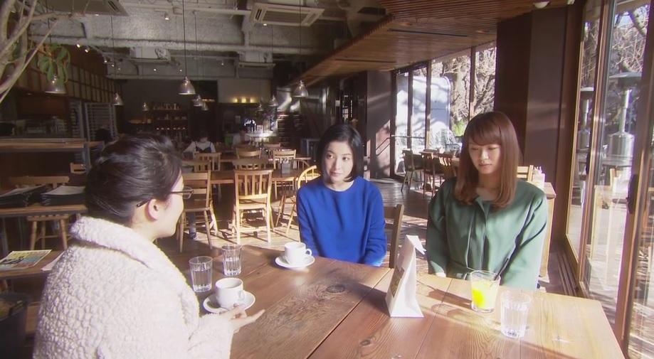 ロイヤルガーデンカフェ,東京タラレバ,8話