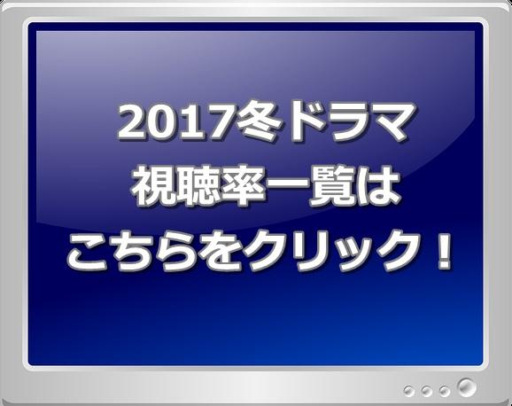 2017冬ドラマ視聴率一覧