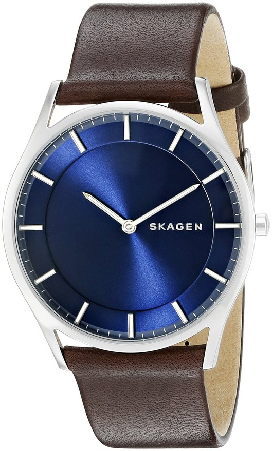 SKAGEN(スカーゲン) Holst Slim Leather Watch