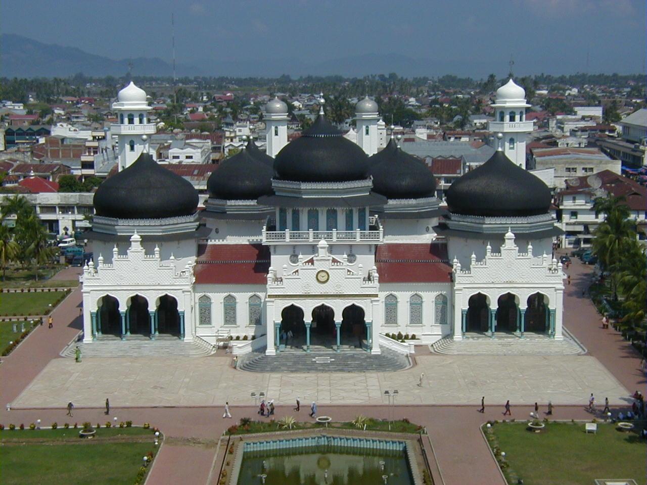 インドネシア・スマトラ島のバンダ・アチェ