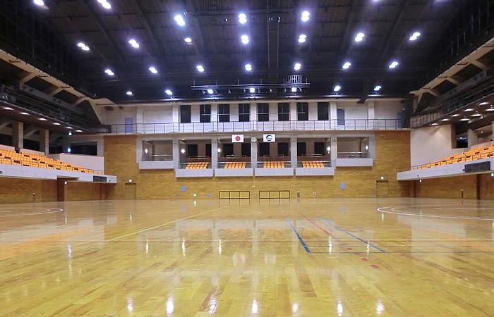 茨城県筑西市の下館総合体育館