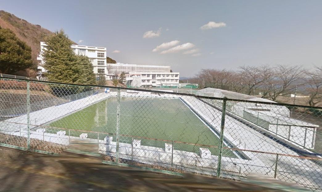 静岡県立熱海高校,プール