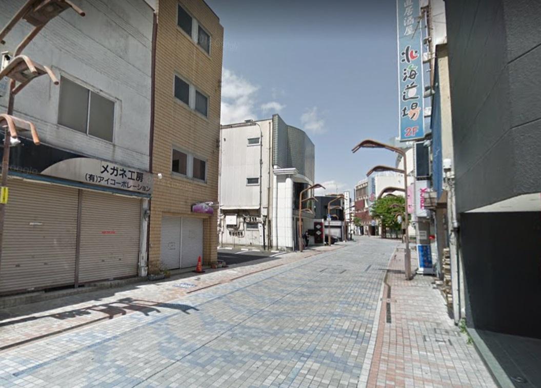 中央前橋駅前の千代田町商店街