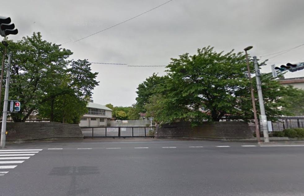 旧足利西高校前