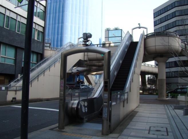 昭和通り銀座歩道橋 (ときめき橋)