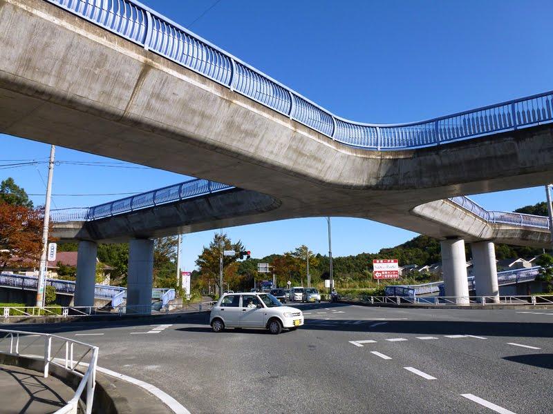 みどりが丘歩道橋