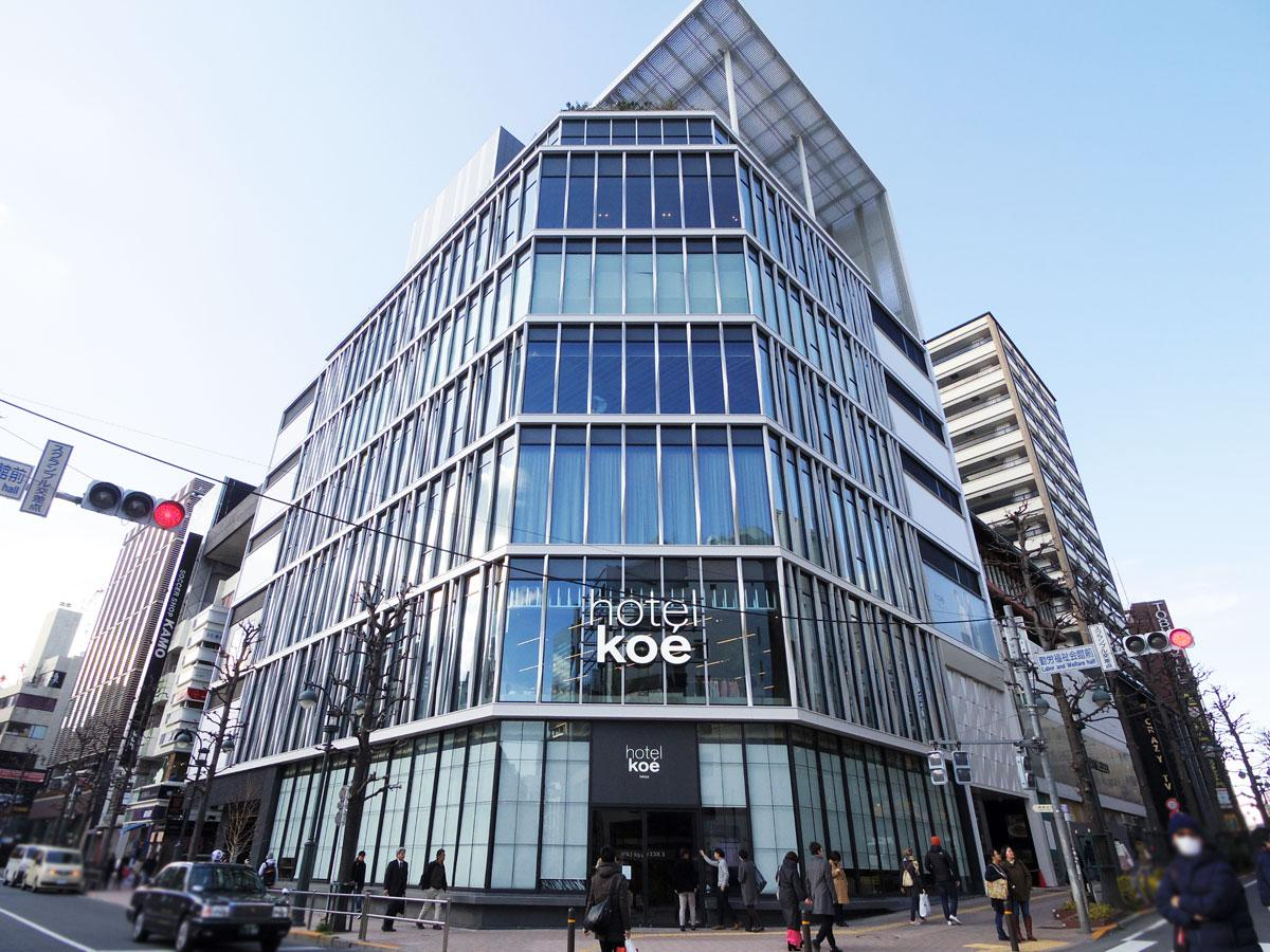 ホテルkoe東京
