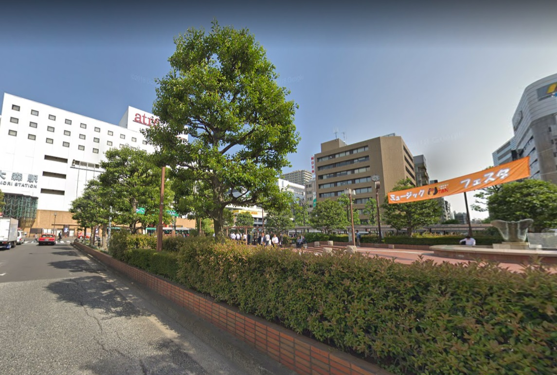 大森駅前広場