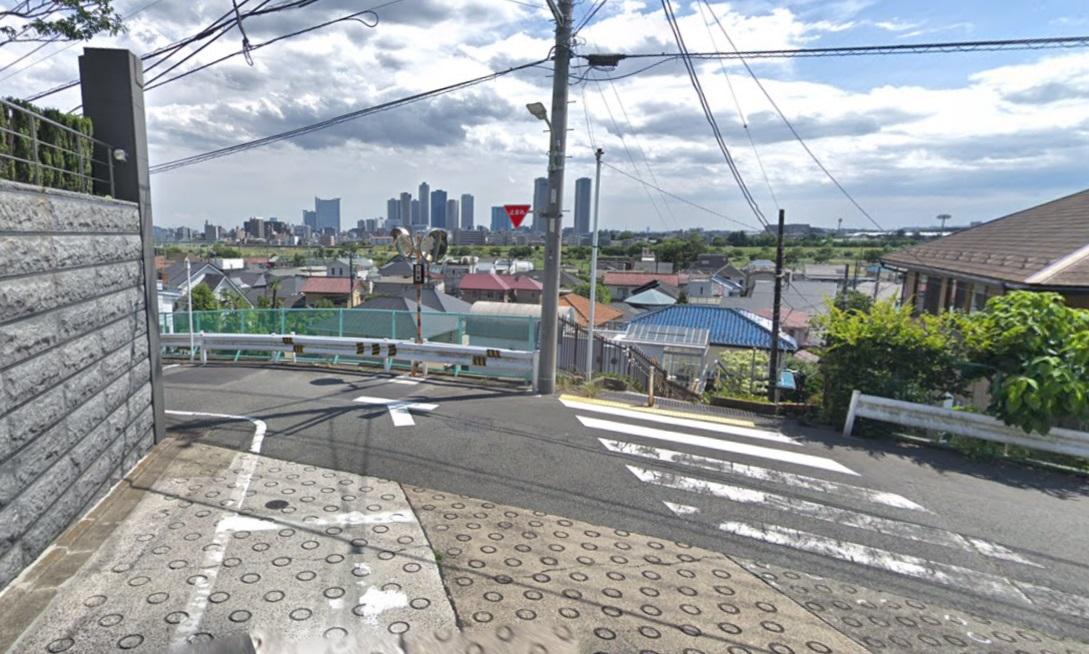 東京都世田谷区田園調布の高台