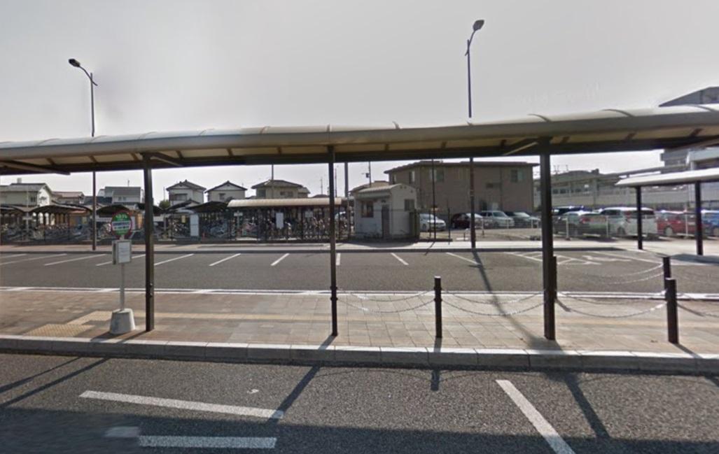 高崎問屋町駅の駐輪場