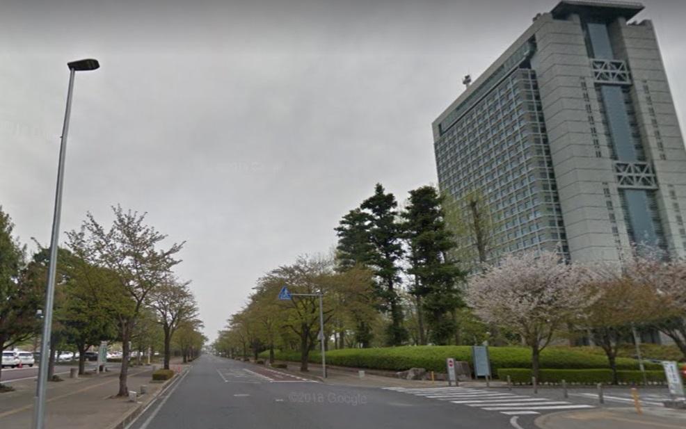 茨城県庁北通り