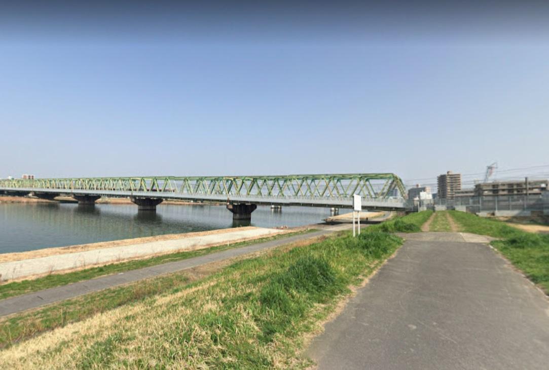 江戸川の河川敷