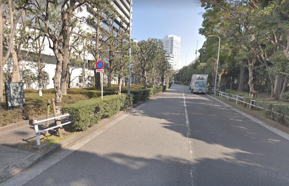 東京ガス前