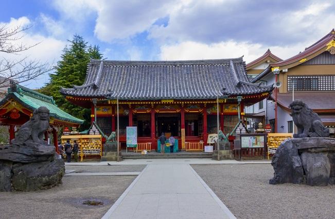 浅草神社の外観