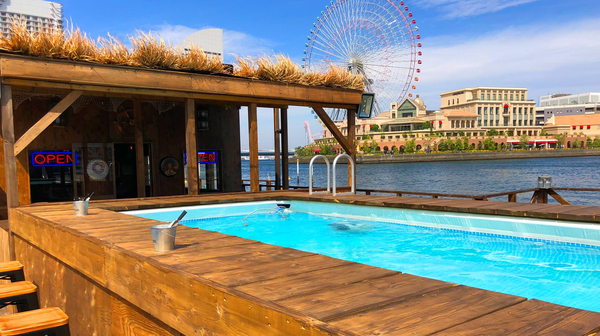 カフェ・バー ヘミングウェイ 横浜 in 横浜港ボートパーク