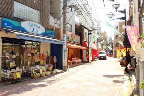 川島商店街