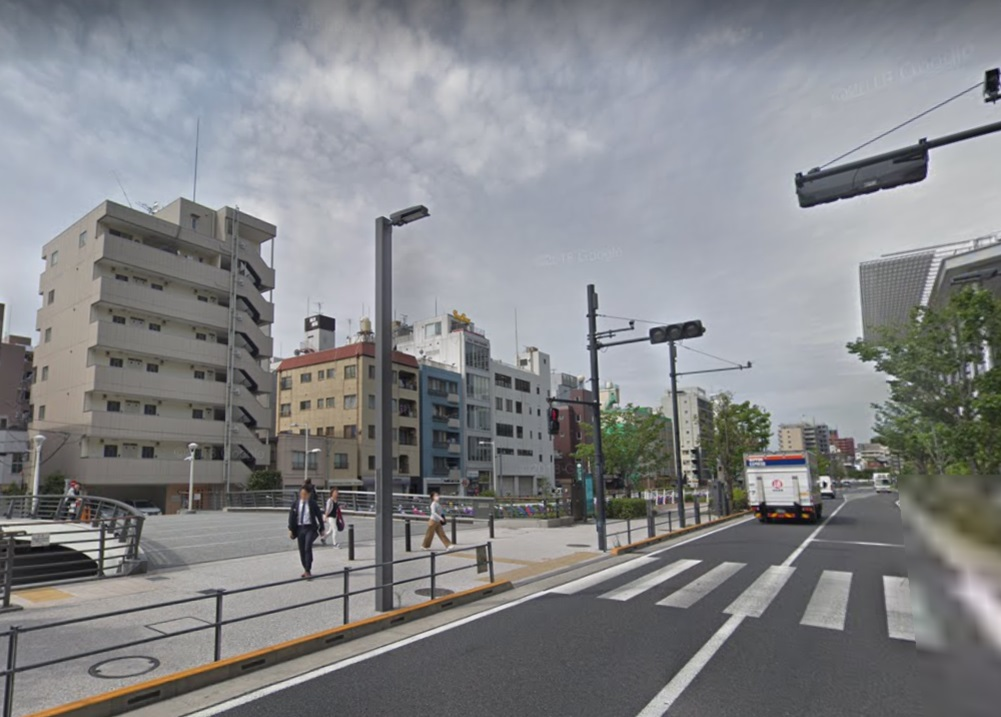 東京ソラマチ前の橋
