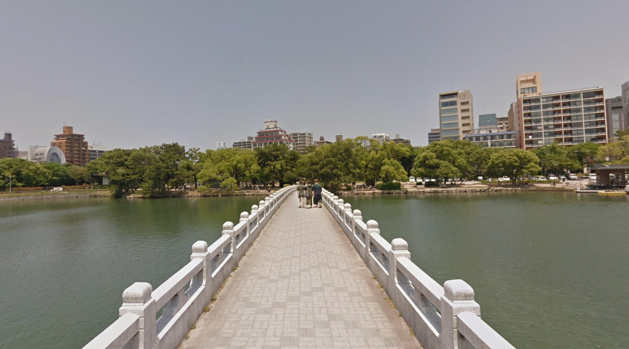 大濠公園の橋