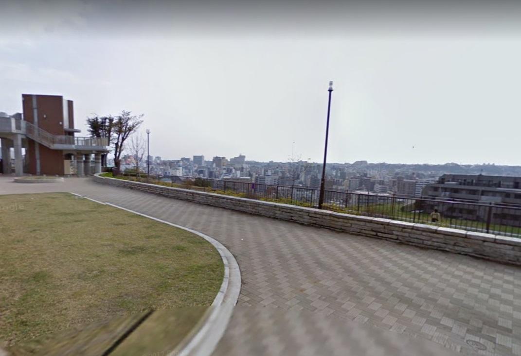 野毛山公園展望台