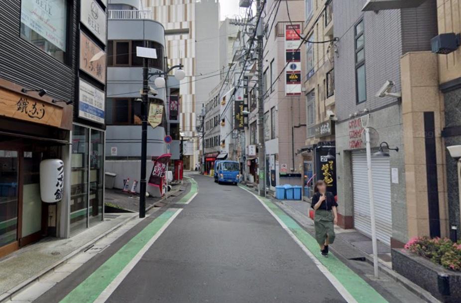 恵比寿の繁華街