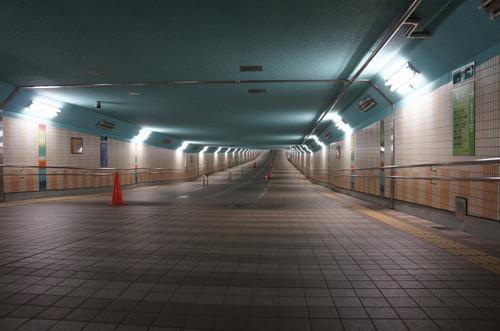 加平谷中地下歩道