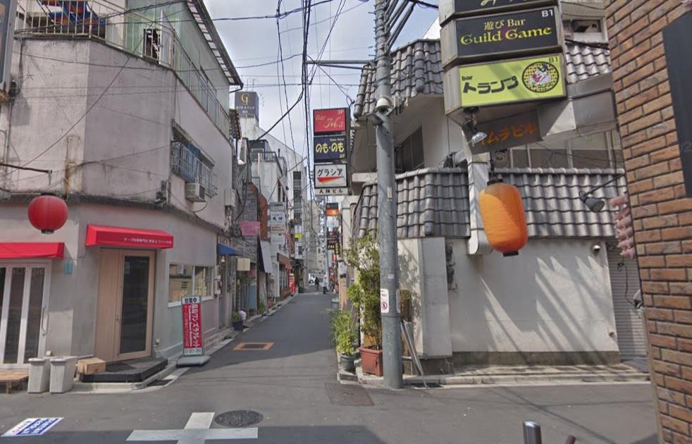 上野の飲み屋街