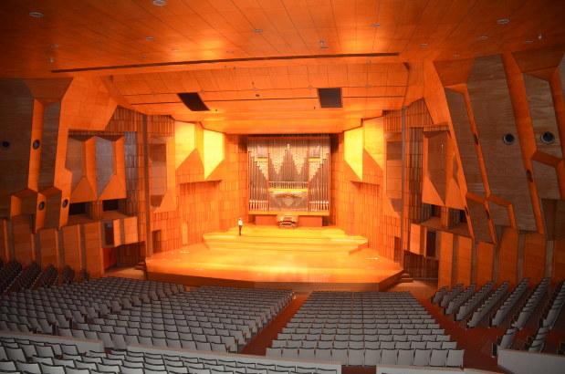 武蔵野音楽大学バッハザール