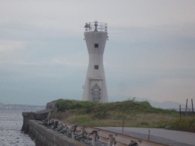 富津港の灯台