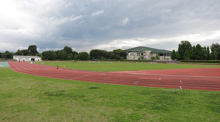 石岡市運動公園陸上競技場